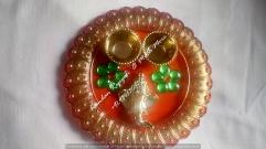 Ganesh Thali -Orange