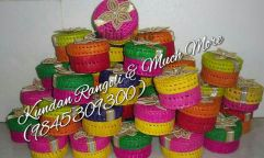Palm Leaf Round Box
