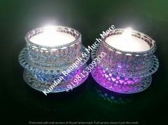 Metallic Tealight candle Holder