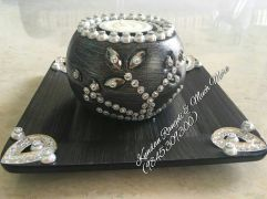 Wooden Candle Stand -11