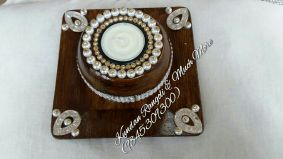 Wooden Candle Stand -4